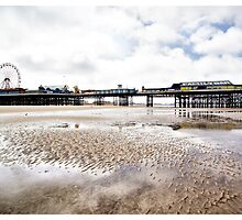 Central Pier Blackpool by inkedsandra
