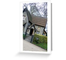 Lovely house in London Greeting Card