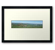 Hope Valley from Mam Tor Framed Print
