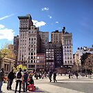 Union Square North - Manhattah, NYC by SylviaS