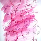 Piggies!  by m3lly