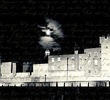 Tower of London, Full Moon, Letter from Anne Boleyn by Heidi Hermes