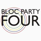 Bloc Party - Four (Black) by Ollie Vanes