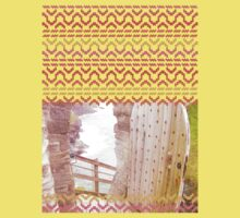 AZTEC 'Door Into Summer'_T-Shirt 1-1 by Daniel Bevis