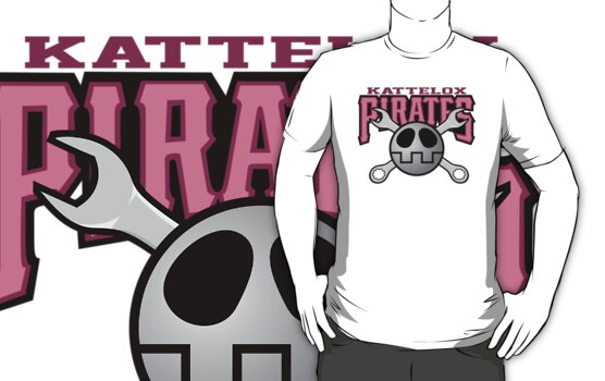 Kattelox Pirates - Bonne Pink by RType88