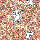 A Family in Autumn by Anthony McCracken