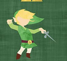 The Legend of Zelda : The Windwaker by tylrclprt