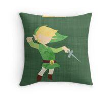 The Legend of Zelda : The Windwaker Throw Pillow