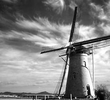 Wind Power BW by robcaddy