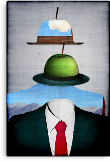 Tribute to René Magritte by andreisky