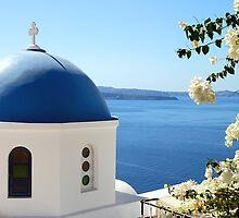 Oia, Santorini, Greece by Carole-Anne