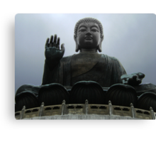 Giant Buddha Statue Canvas Print