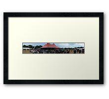Wickham Festival 2011 Framed Print
