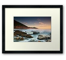 Coalcliff Rising - Coalcliff, NSW Framed Print