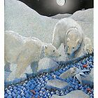 Polar bears by Junga