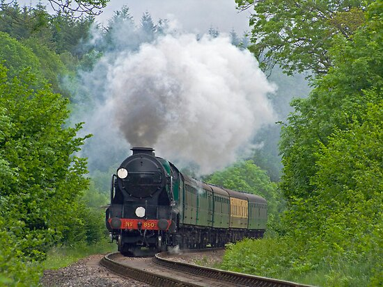 Lord Nelson - The Watercress Line by Colin J Williams Photography