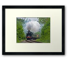 Lord Nelson - The Watercress Line Framed Print
