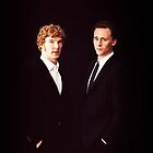 Cumberbatch and Hiddleston by JustineWho