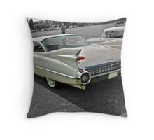 1959 Cadillac Coupe DeVille Throw Pillow
