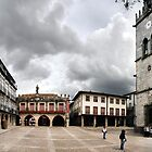 Panoramic view of Plaza Oliveira by Mauro Rodrigues