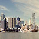 New York City - Manhattan Waterfront Panorama by thomasrichter