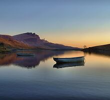 Sunrise over Loch Fada by skyesnaps