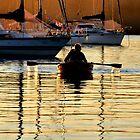 VALENTINE ON LAKE MACQUARIE - NSW AUSTRALIA by Bev Woodman