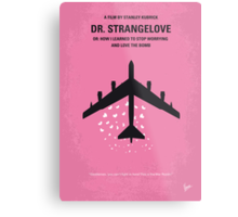 No025 My Dr Strangelove minimal movie poster Metal Print