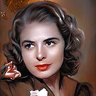 Ingrid Bergman by andy551