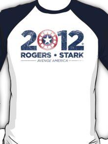 Vote Rogers & Stark 2012 (Blue Vintage) T-Shirt