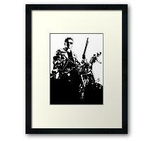 Terminator - The Judgement Day Framed Print