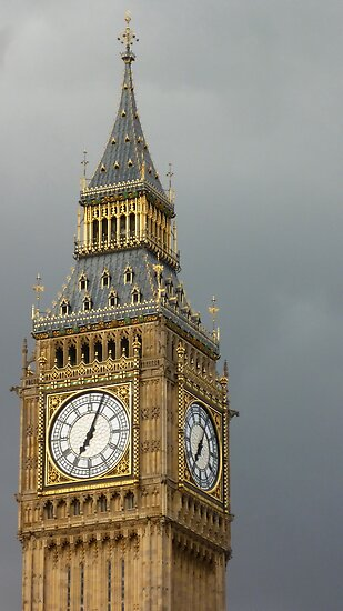 The big ben, The Palace of Westminster, London by Fathers