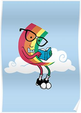 Reading Rainbow by sponzar