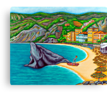 Colours of Monterosso Canvas Print