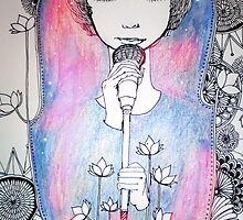 inspired by a singing competition by shaona