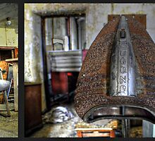 Diptych- Norwich State Hospital by MJD Photography  Portraits and Abandoned Ruins