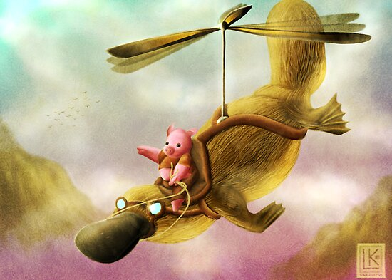 Pfft Who Says I Can't Fly? by Lydia Kurnia