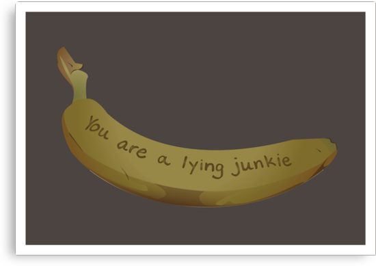 A lying Junkie   Community by Mark Quimoyog