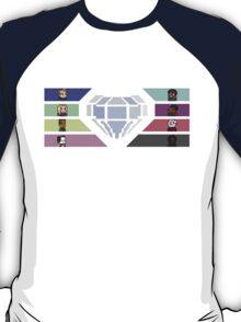 Pixel White Diamond   Community T-Shirt