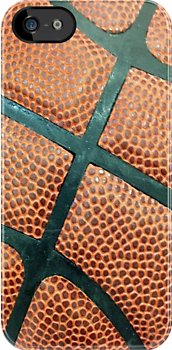 Basketball texture iPhone case 4/4s by Jnhamilt