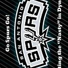san antonio spurs iphone 4/4s case by RLdesigns