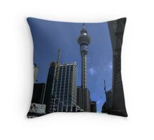 Sky Tower Throw Pillow