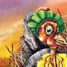 Happy Scrub Turkey by Josh De Pasquale