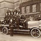 Trowbridge Fire Brigade 1922 by Trowbridge  Museum