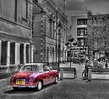 Old Car Old Town by timpr
