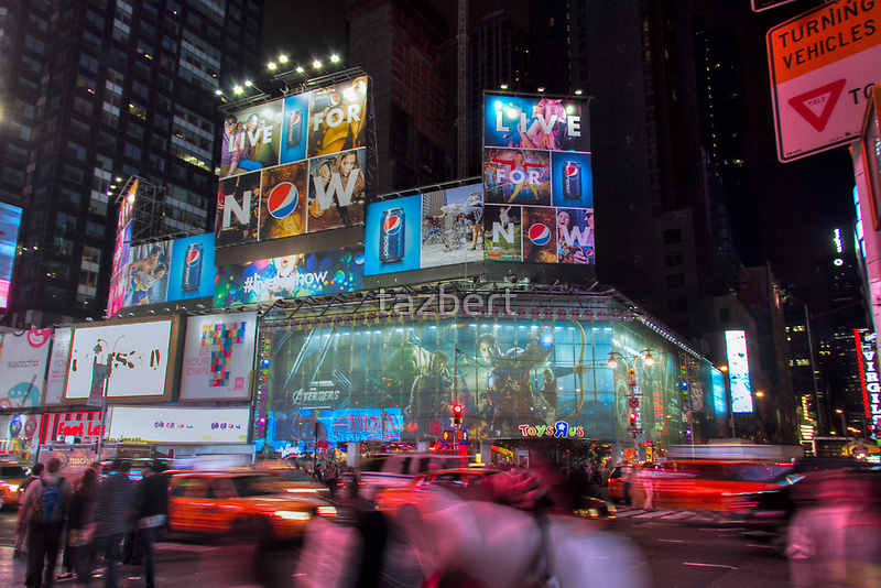 NYC in motion by tazbert