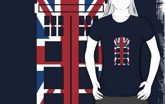 Union Jack TARDIS by saniday