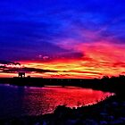 Sunrise over Denison Dam [iPhone - iPod Case] by aprilann