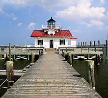 Roanoke Marshes Lighthouse, Manteo, North Carolina by Kenneth Keifer