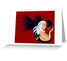 The Blood of the Dragon Greeting Card